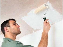 Чим фарбувати стелю з гіпсокартону?  Поради від майстра