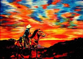 Барвисті картини сліпого художника Джона Брамблітта (John Bramblitt)