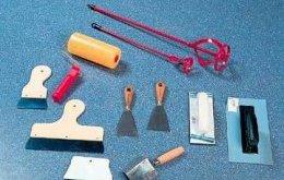 необхідні інструменти для декоративної штукатурки