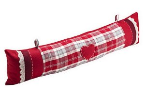 підвісна подушка на двері від протягів