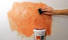 фарбування декоративної штукатурки