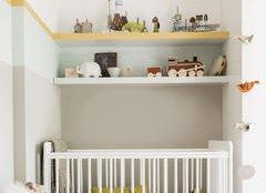 Створюєте дитячу, але поки не знаєте, хто у вас буде?  Поєднання заспокійливих нейтральних кольорів і сміливих малюнків прекрасно впливає на розвиток малюка.